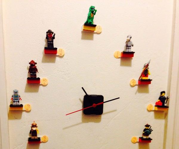 Minifigure Display/Wall Clock