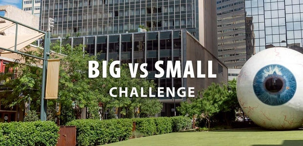 Big vs Small Challenge