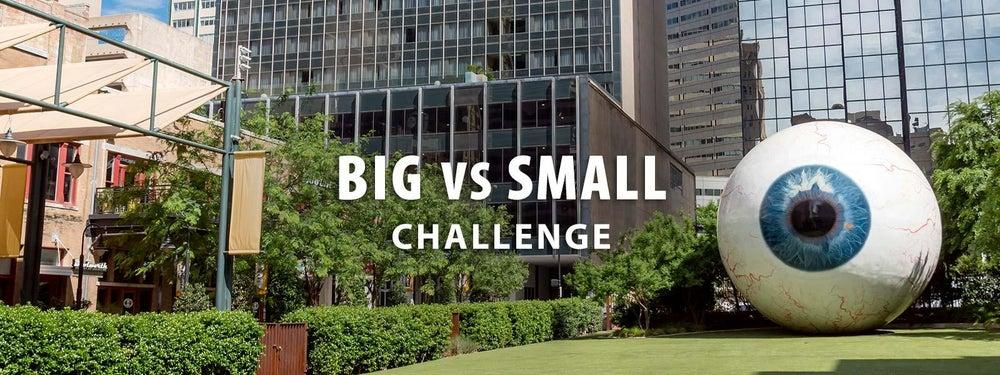 Big vs Small Challenge