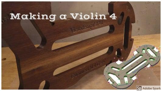 Making a Violin Mold for the Guaneri 'del Gesu' Vieuxtemps Violin 1741