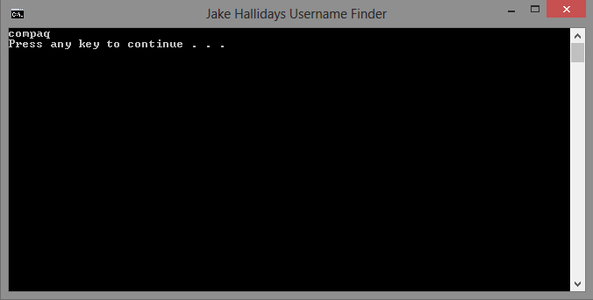 How to Make a Username Finding Batch File