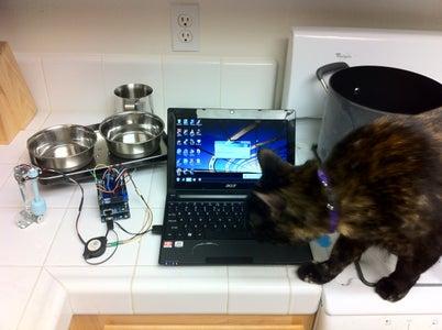 Make Your Pet Dishes Tweet!