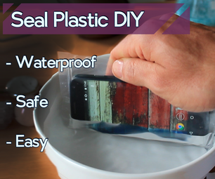 Seal Plastic Bag at Home | HAIR STRAIGHTENER Way