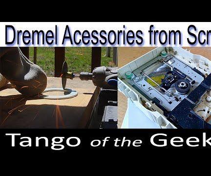 Dremel Accessories From Scrap Parts