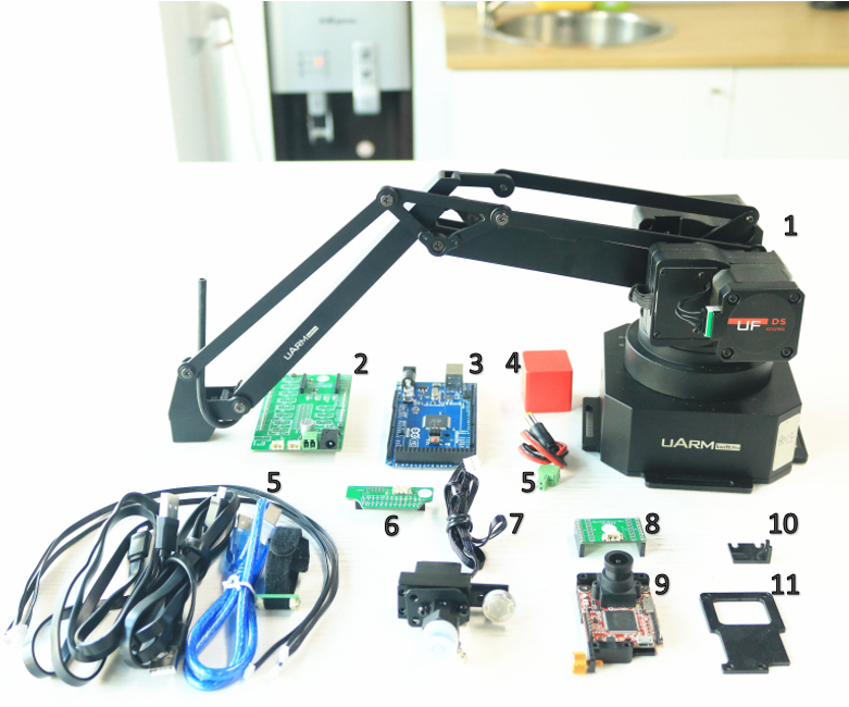 An Affordable Vision Solution With Robot Arm