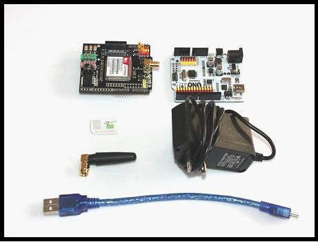 Tutorial EFCom - GRPS/GSM Shield Arduino