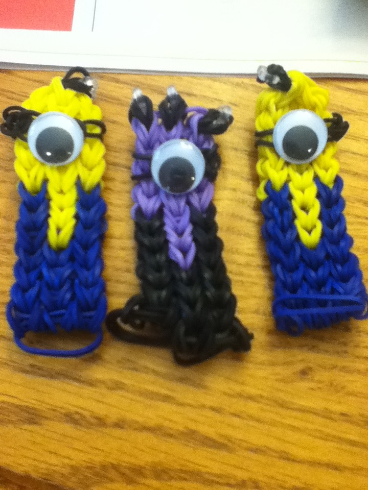 Rainbow Loom Minion