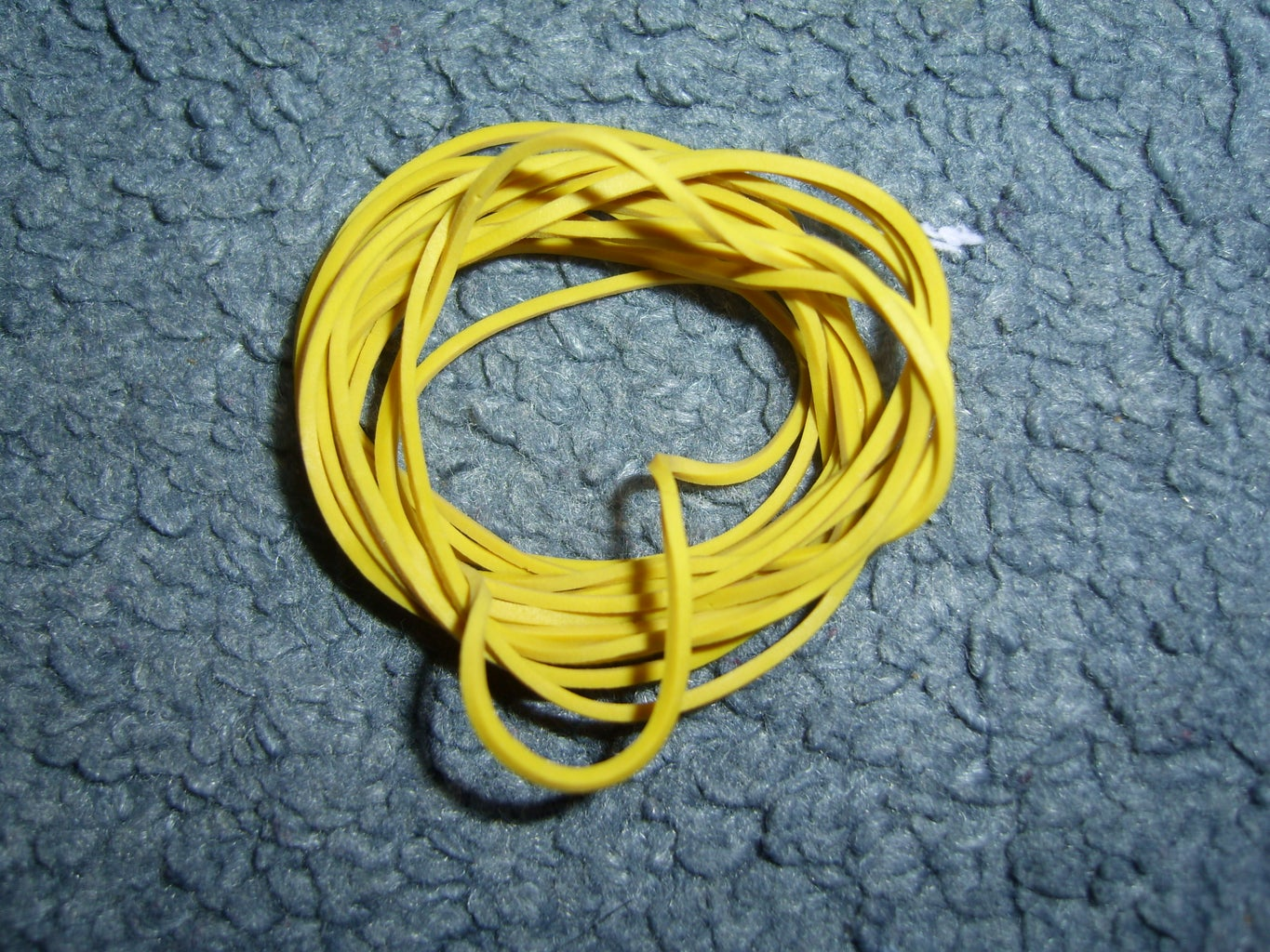 Elastic Bands and Ammo