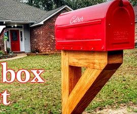 DIY Mailbox Post