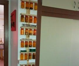 Medicine Bottle Parts Organizer