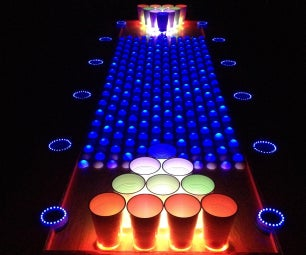 Interactive LED Beer Pong Table