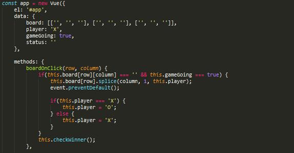 Add the Javascript