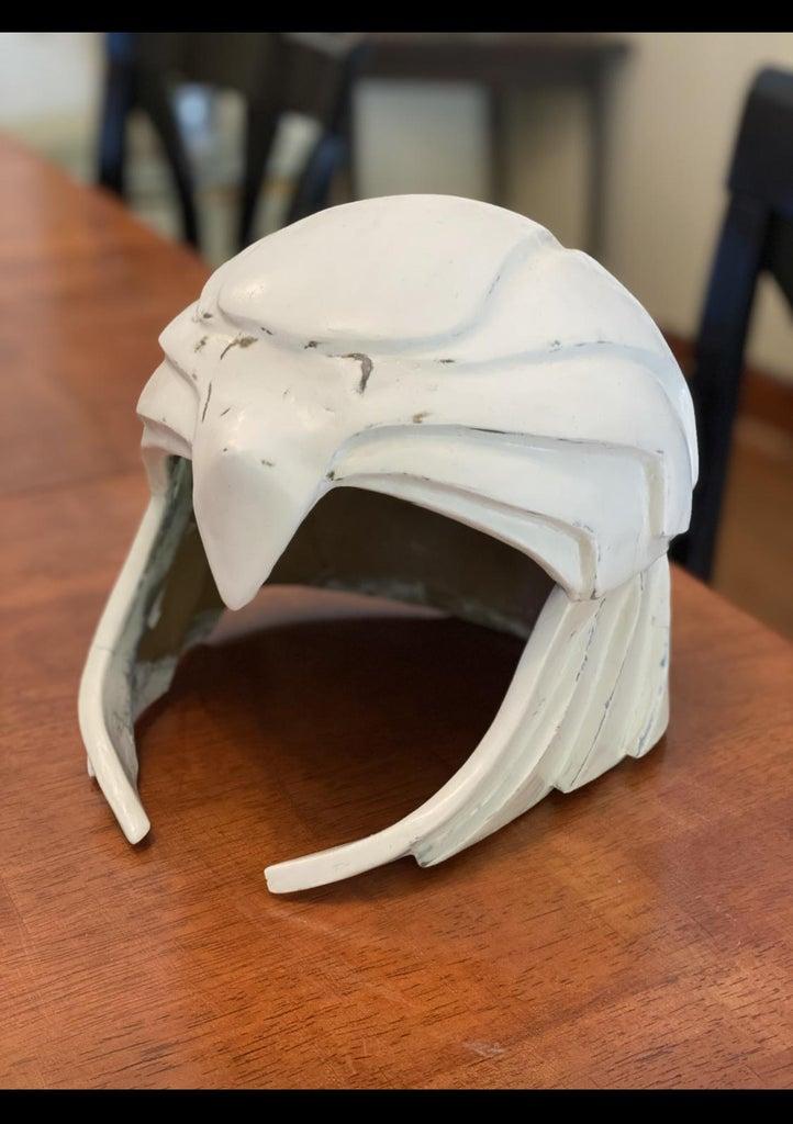 Apply Gesso on the Helmet