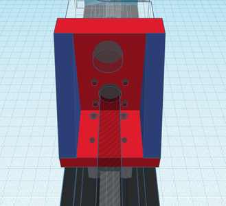 Design Process - Moving Load Cell Mount - Reinforcement and Extras