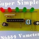 Super simple AN6884 Vumeter!