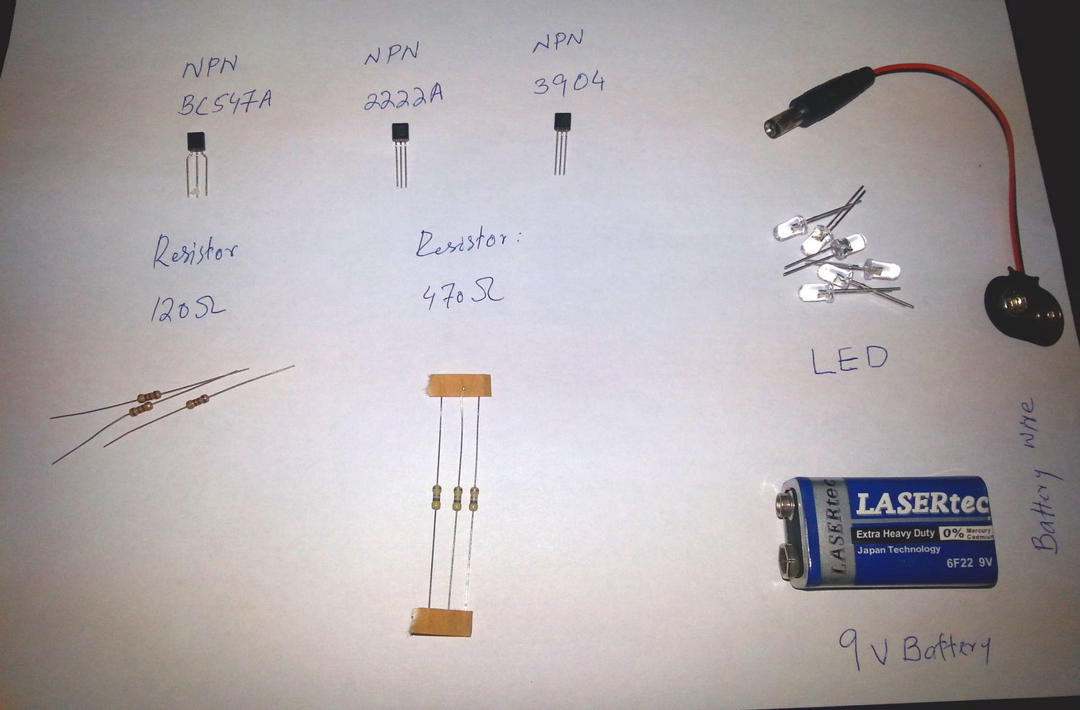 Acquire Necessary Electronic Components
