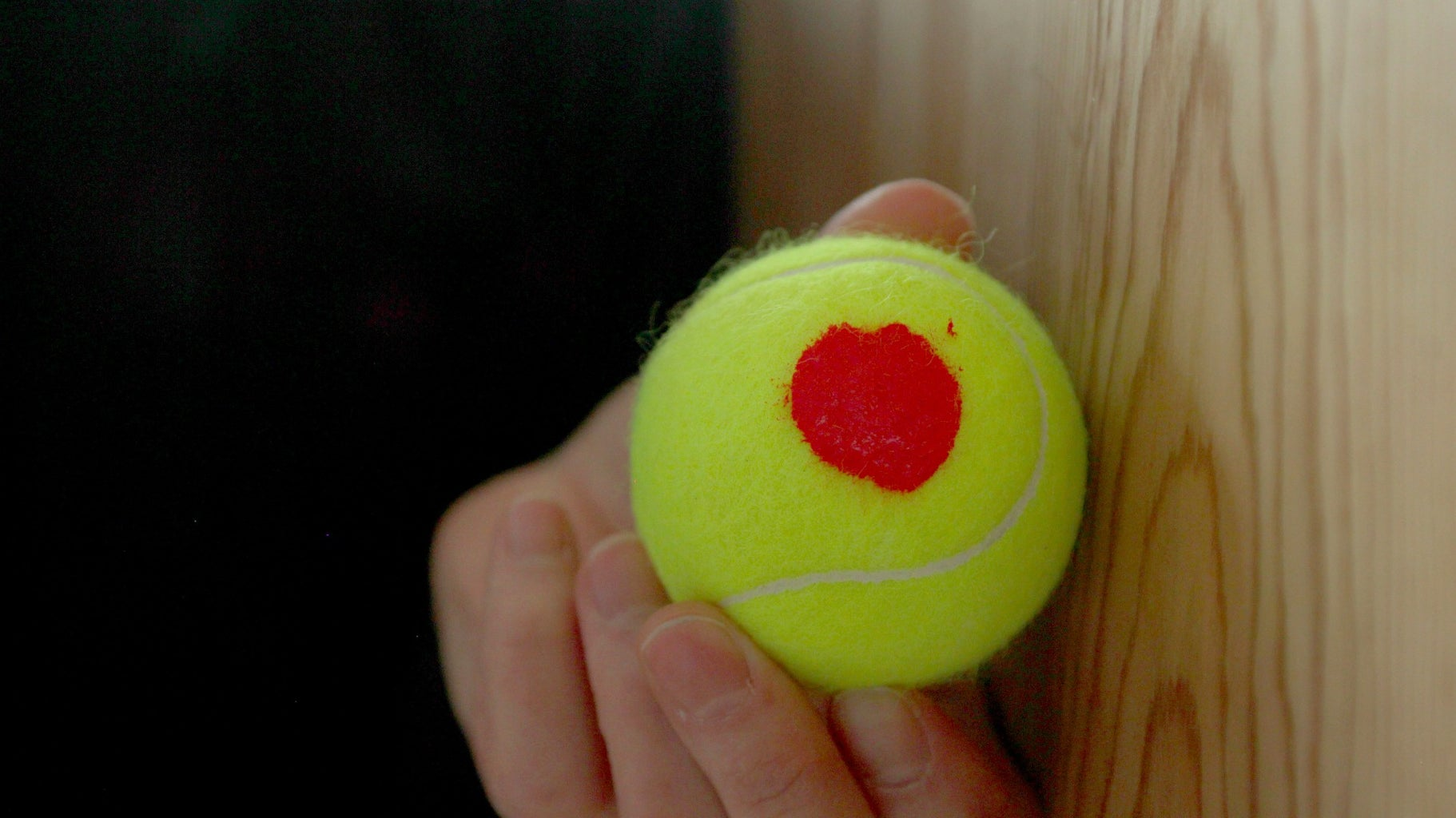 Add a Base Layer to the Tennis Balls