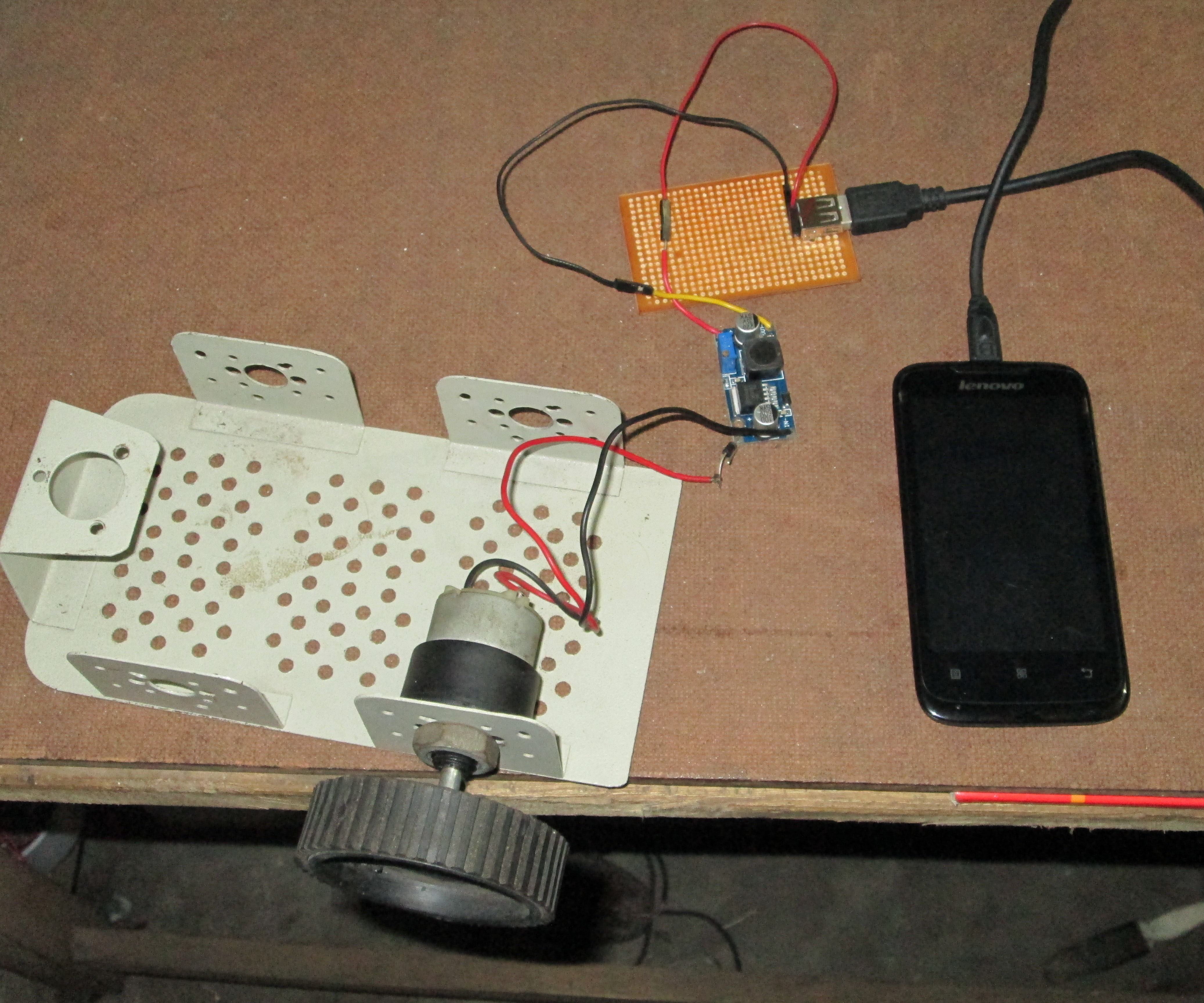 Human Powered Phone charger