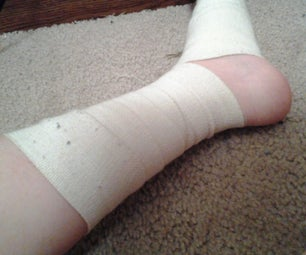 How to Do a Super Wrap for a Sprained Ankle or Foot