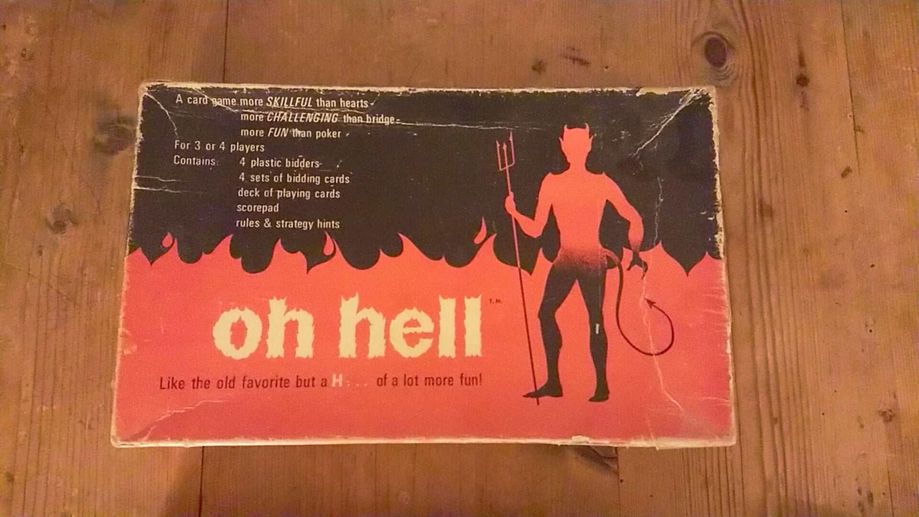 Oh Hell! Original Markers