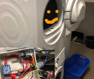 EndOftheLine: Arduino Washing Machine/Dryer Monitor