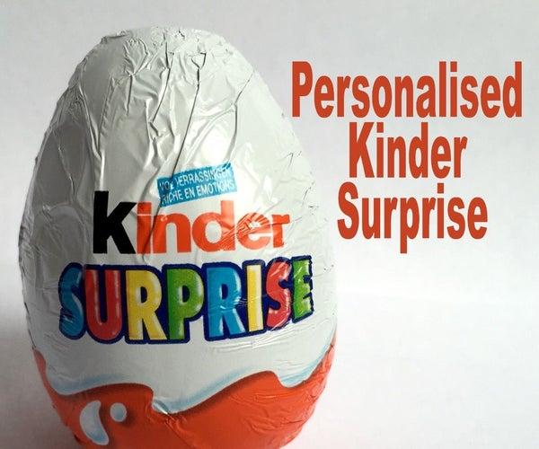 Personalised Kinder Surprise Gift