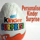 Personalised Kinder Surprise gift