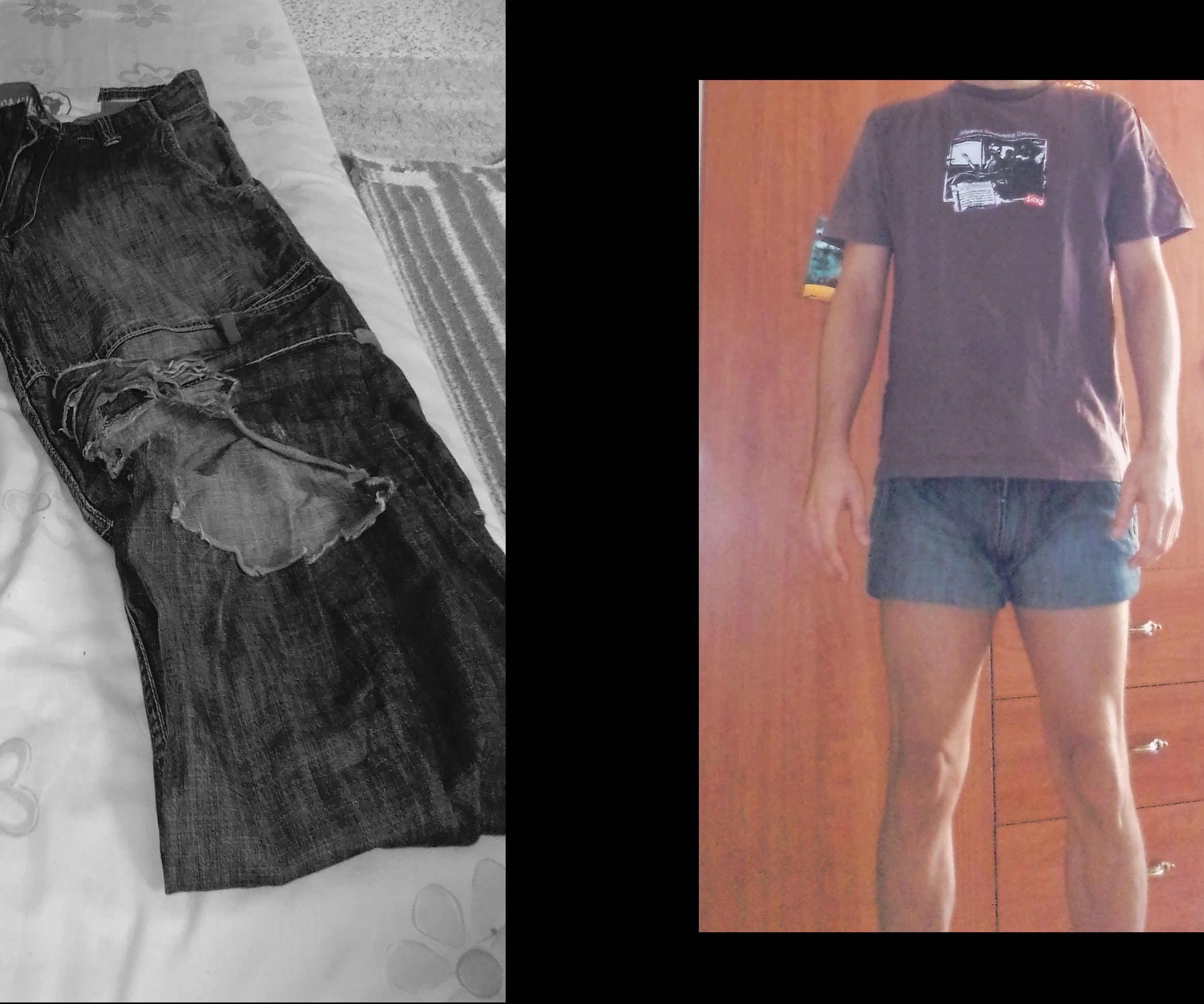 From Jeans to Shorts With No Sewing Machine (For Men)