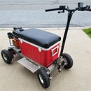 DIY Gas Powered Cooler Kart