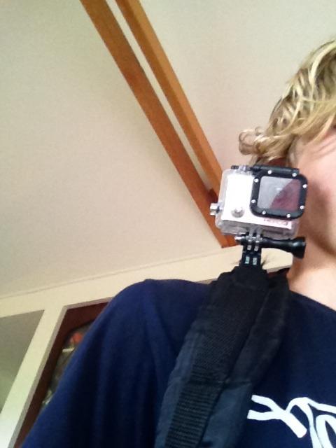 Backpack GoPro Shoulder Mount
