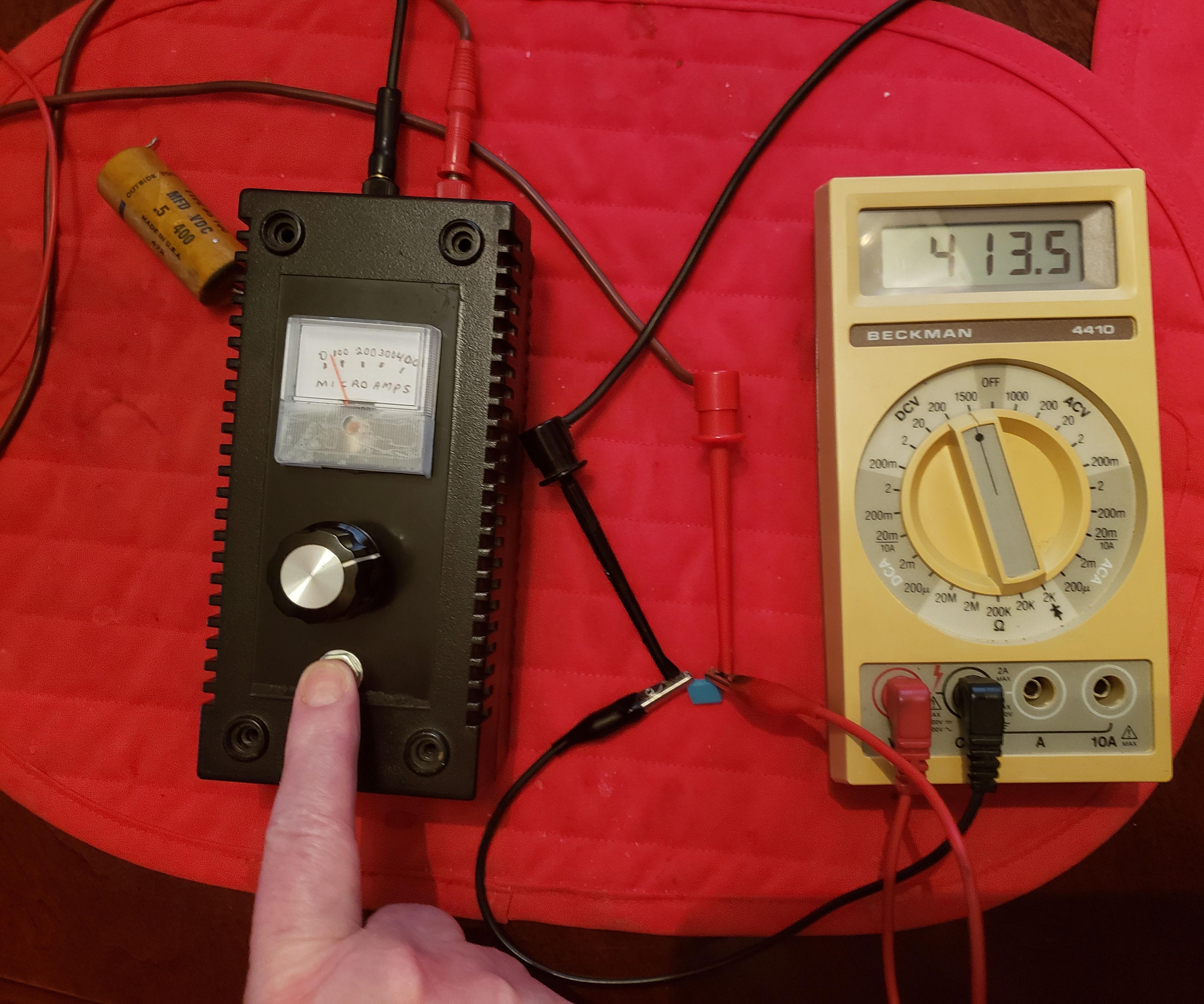 Capacitor Leakage Tester