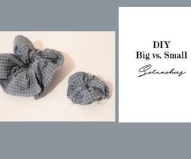 Diy Mini Scrunchies (No Sew!)