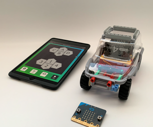 [2021] Start Up Guide for Valenta Micro:bit RC Car With IPad/IPhone