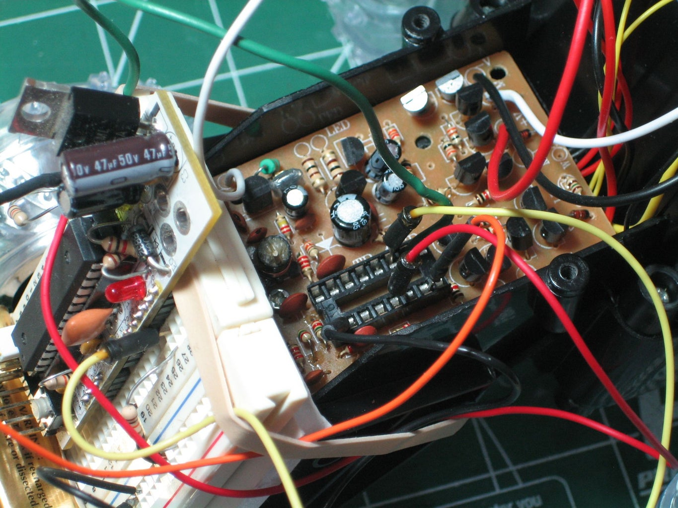 Test the PCB and Add on Your Controller