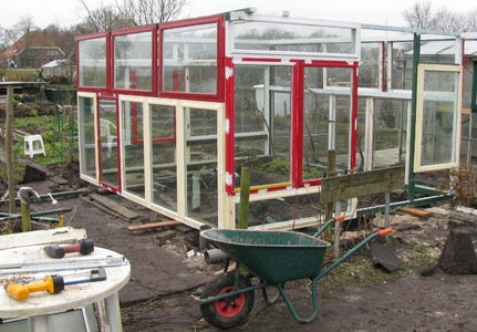 Building the Standing Frame With Windows