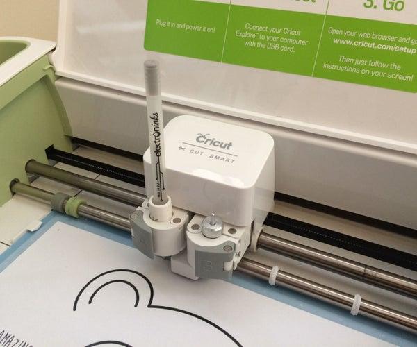 Print Circuit Scribe Designs With Cricut Explore