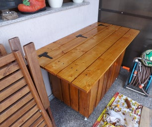New Toolbox From Pallet Wood