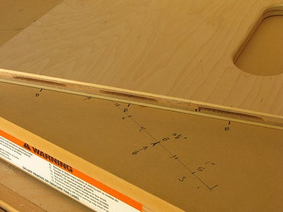 Setting Up the Biscuit Cutting Jig