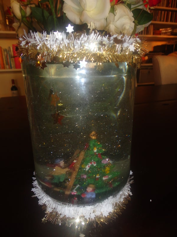 How to Make a Snow Globe!