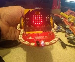 The Adeept Starry:Bit BBC Micro:Bit Robot With Arduino IDE