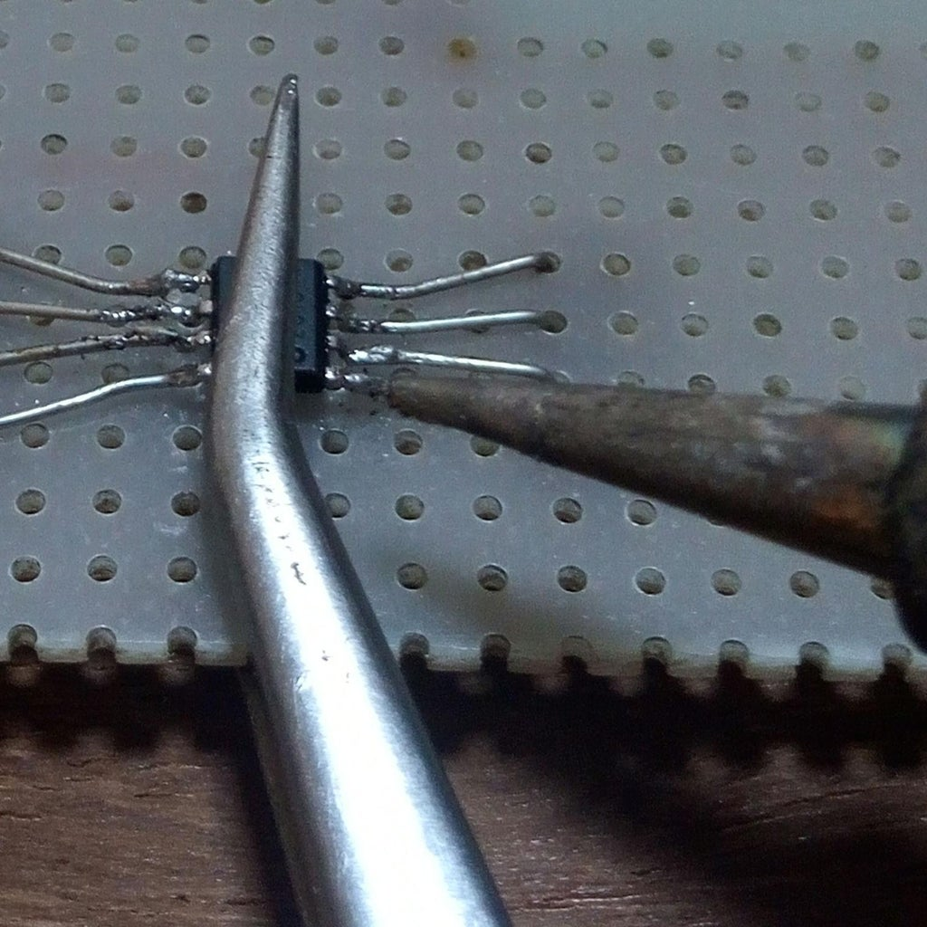 Finally Solder the Chip
