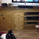 Oak Sideboard-Media Unit