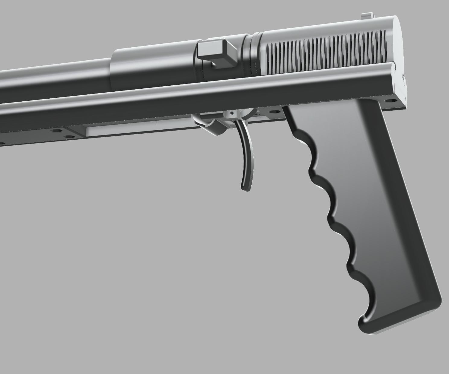 BOOM 3D Printed Nerf Dart Compatible Gun (elite)