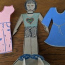 Paper Doll of Inherent Worth