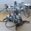 How to build a simple robotic arm from Lego Mindstorms NXT?
