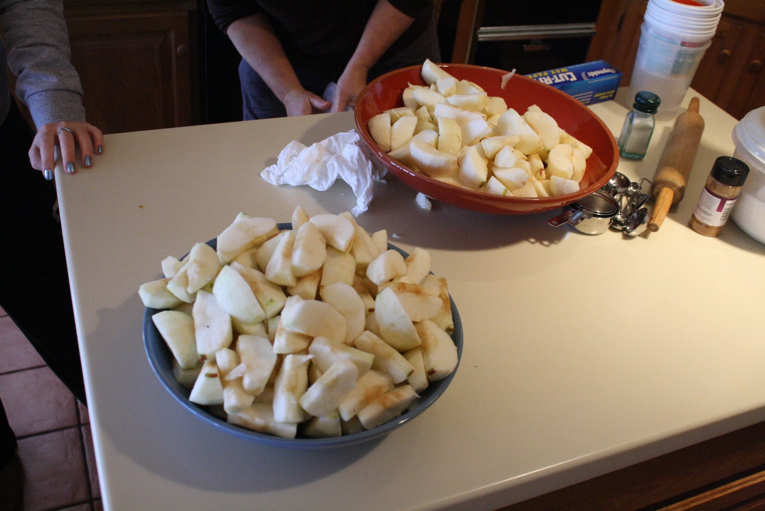 Peel and Slice the Apples