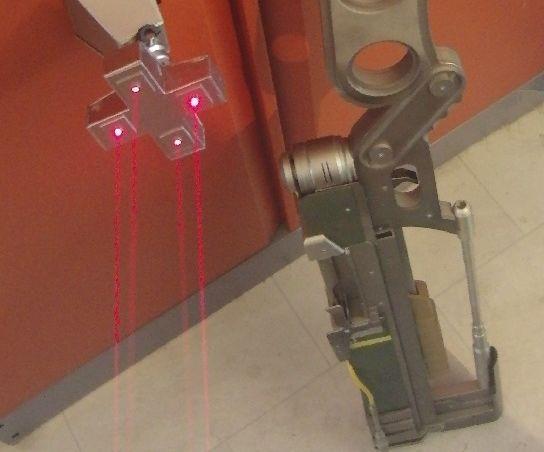 Laser lightgate incl alarm FALLOUT STYLE