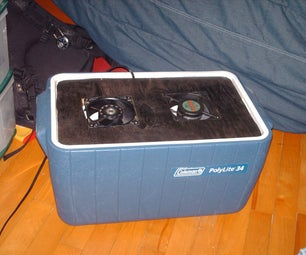 DIY Cheap & Small Air Conditioner