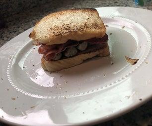 我的肉三明治