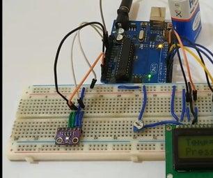 BMP280 Pressure Sensor Module With Arduino